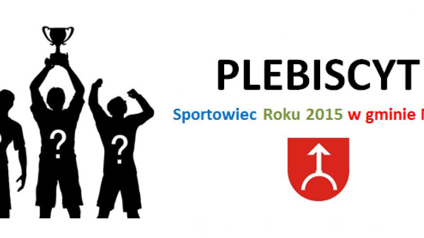 Plebiscyt na Sportowca Roku 2015 w gminie Nekla