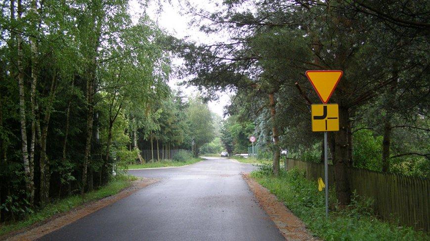 Zdjęcie skrzyżowania w Nekielce