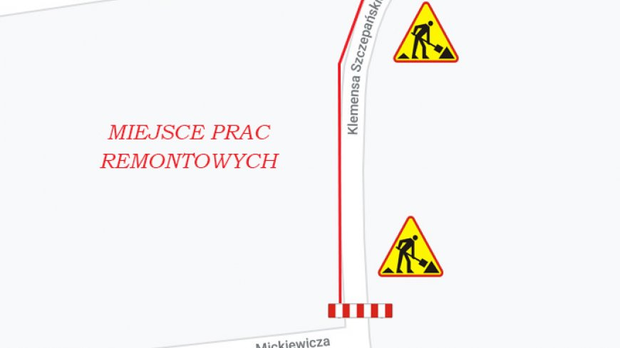 położenie drogi na mapie
