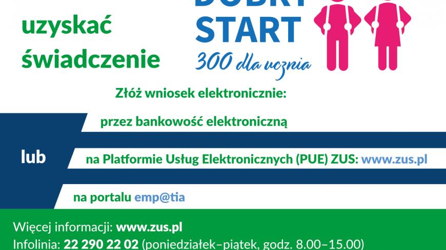 Infografika - Dobry Start